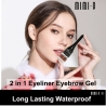 MIMIQ 2 IN 1 Eyeliner Eyebrow Gel
