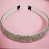 Color diamond hair band
