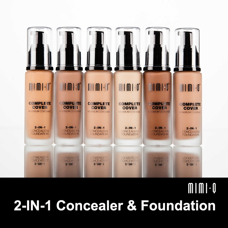 mimiq concealer  foundation